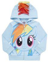Character Hasbro My Little Pony Rainbow Dash Hoodie, Toddler Girl's