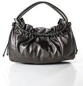 Cole Haan Gunmetal Gray Small Shoulder Satchel Handbag