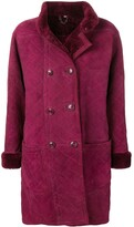 Saint Laurent Pre Owned 1980's Fourrure coat