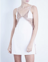 Heidi Klum Intimates Venetian Embrace satin chemise
