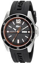 Lacoste Men's 2010799 Seattle Analog Display Japanese Quartz Black Watch