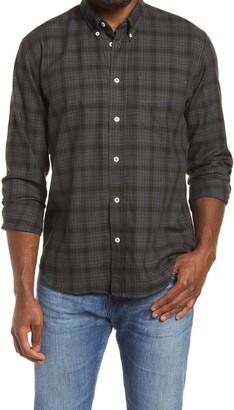 Billy Reid Standard Fit Plaid Button-Down Shirt