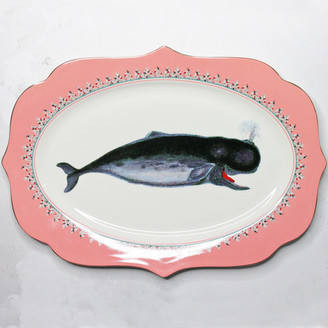 Yvonne Ellen - Whale of a Time Fine Bone China Platter