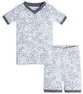 Baby Sheriff's Stars Organic Cotton Short Sleeve Pajamas