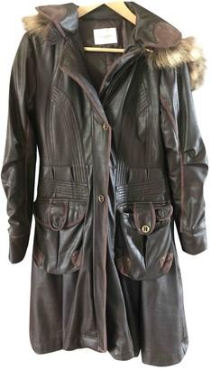 Lungta de Fancy Brown Coat for Women