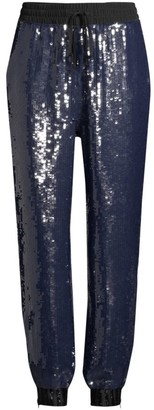 Tommy Hilfiger Collection Sequined Track Pants