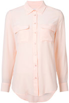 Equipment longsleeve shirt - women - Silk - L