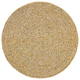 Kim Seybert Round Wood Bead Placemat