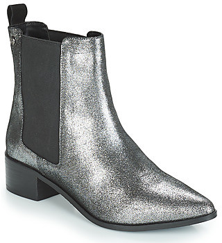 Superdry ZOE QUINN HIGH CHELSEA BOOT women's Low Ankle Boots in Black