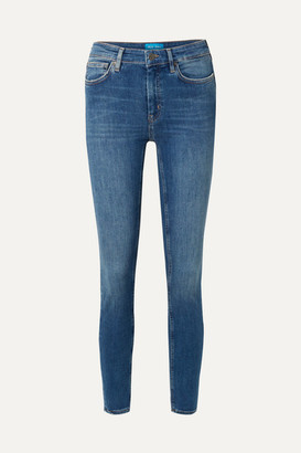 MiH Jeans Bridge High-rise Skinny Jeans - Blue