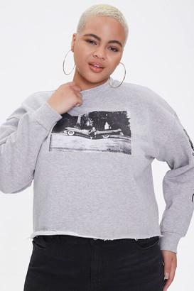 Forever 21 Plus Size Marilyn Monroe Sweatshirt