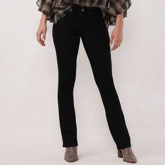 Lauren Conrad Petite The Barely Boot Bootcut Jeans