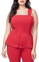 Rachel Roy Plus Size Women's Convertible Peplum Bustier