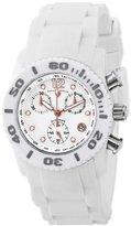 Swiss Legend Women's 10128-02-RA Commander Diamonds Analog Display Swiss Quartz White Watch
