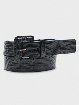 Banana Republic Square-Buckle Belt