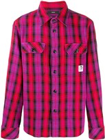 Diesel checked print long sleeve shirt