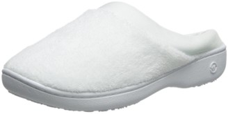 Isotoner Womens Classic Microterry Hoodback Slippers