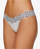 Hanky Panky Heather Jersey Low-Rise Thong 681501
