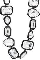 Ambush Women's Crystal-Embellished Geometric-Link Choker