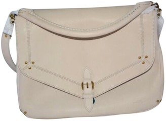 Jerome Dreyfuss Beige Leather Handbags