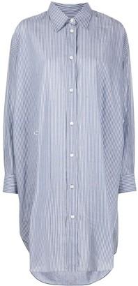 Etoile Isabel Marant Pinstriped Shirtdress