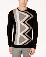 Alfani Men's Geometric Cashmere Blend Sweater, Created for Macy's