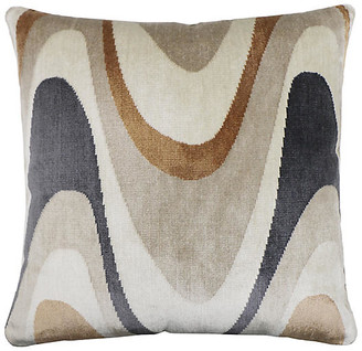 The Piper Collection Harlow 22x22 Pillow - Umber Velvet