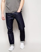 Edwin Jeans ED-55 Relaxed Tapered Fit Compact Indigo Unwashed