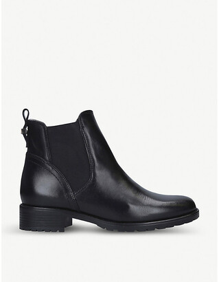 Russ shearling-lined leather Chelsea boots