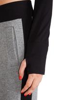 Norma Kamali Long Sleeve Crop Top
