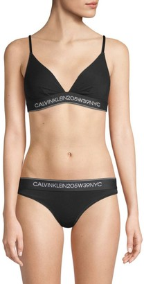 Calvin Klein Unlined Triangle Bra