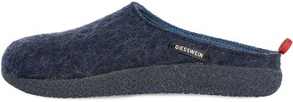 Giesswein Slipper Vorbach ocean 42 - felt slippers changeable footbed warm unisex-house shoe mules for men & women comfortable slippers made of wool with fixed sole non-slip robust incl. tongue