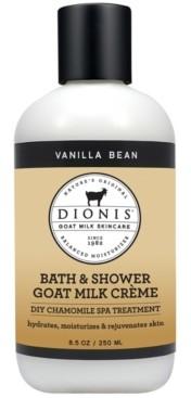 Dionis Bath and Shower Goat Milk Creme, Vanilla Bean