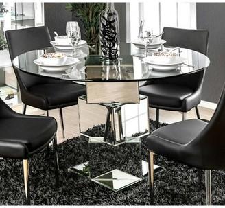 Orren Ellis Suprident Solid Oak Dining Table