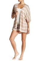 PJ Salvage Tie-Dye Pompom Kimono