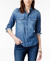 Lucky Brand Western Long-Sleeve Denim Shirt
