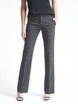 Banana Republic Logan-Fit Windowpane Lightweight Wool Trouser
