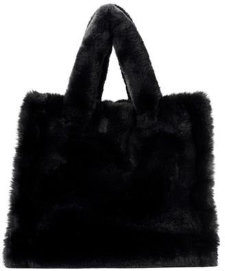 Stand Faux fur Lolita bag