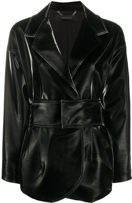 FEDERICA TOSI Long-Sleeved Belted Jacket