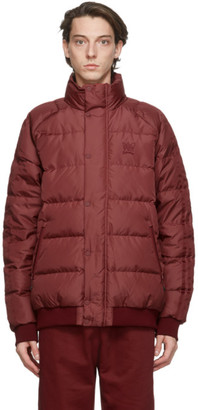 adidas Red Jonah Hill Edition Down Puffer Jacket