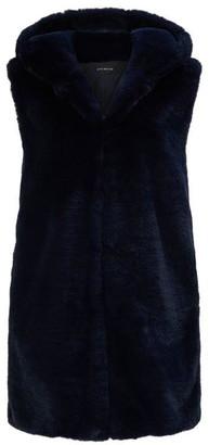 James Lakeland Faux Fur Hooded Gillet