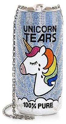 Judith Leiber Unicorn Tears Beverage Can Crystal Clutch
