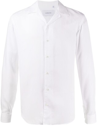 Costumein Spread-Collar Long-Sleeve Shirt