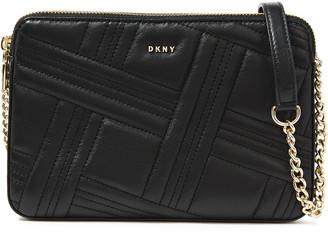 DKNY Allen Quilted Leather Shoulder Bag