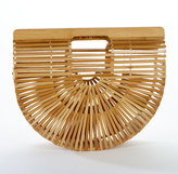 Cult Gaia Gaia's Ark Large Bamboo Clutch Bag