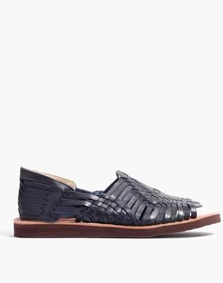 Madewell Chamula Chichen Open-Toe Huarache Sandals