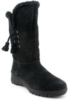 Lauren Ralph Lauren Women's Tadina Suede Winter Boot.