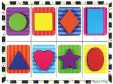 Melissa & Doug Shapes Chunky Puzzle - 8 Pieces_Multicolour