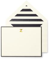 Kate Spade Monogram Z Correspondence Cards - Set of 10
