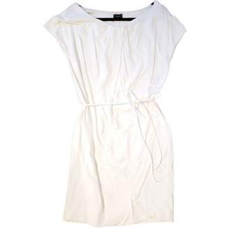 Lacoste White Cotton Dress for Women